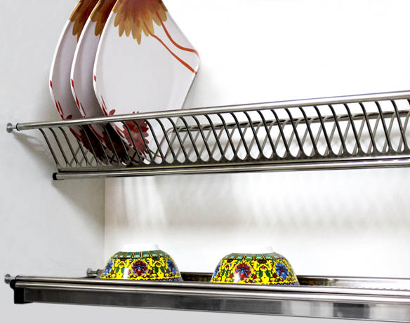 Dish Rack Stainless Steel 202 Grade 600mm